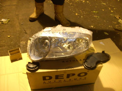 ALFA 147 N/S HEADLIGHT NEW 00-05