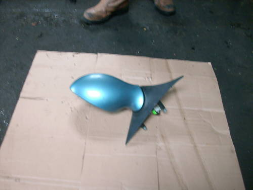 ALFA 156/SPORTWAGON N/S MIRROR BLUE ELECTRIC 02-06