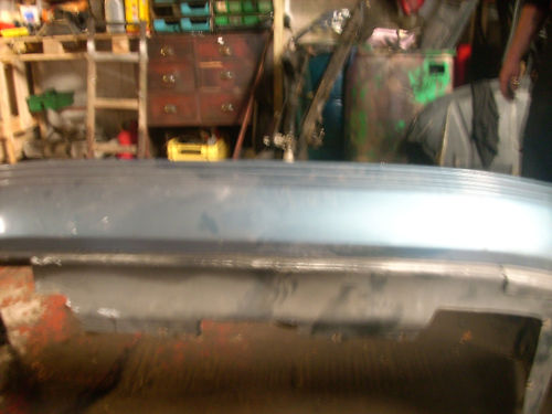 ALFA 164 REAR BUMPER BLUE 88-93