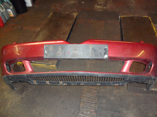 ALFA 166 FRONT BUMPER IN RED METTALIC 98-03
