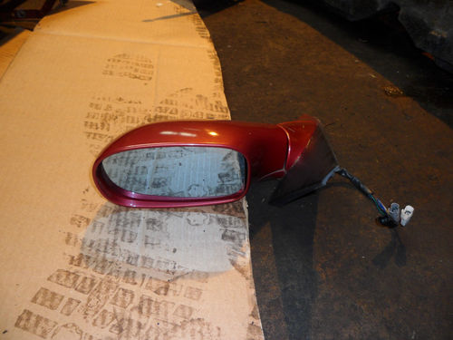 ALFA 166 N/S MIRROR IN PROTEO RED 195/A 98-06