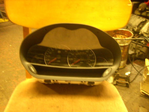 ALFA 166 BLACK SPEEDO HEAD MANUAL P/N 156029866 98-03